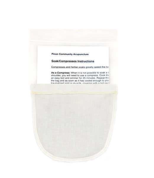 Soak Compress for Tendon and Muscle Pain Instructions